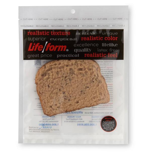 Nasco Bread Food Replica - Whole Grain - 1.25 oz