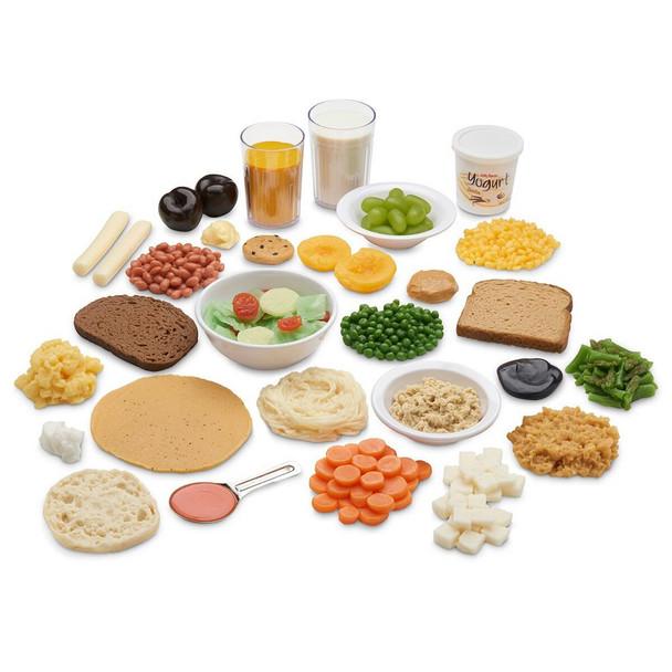 Nasco Vegetarian Food Replica Kit