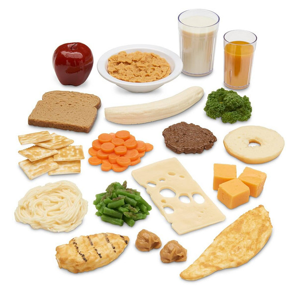 Nasco Rainbow Food Replica Package