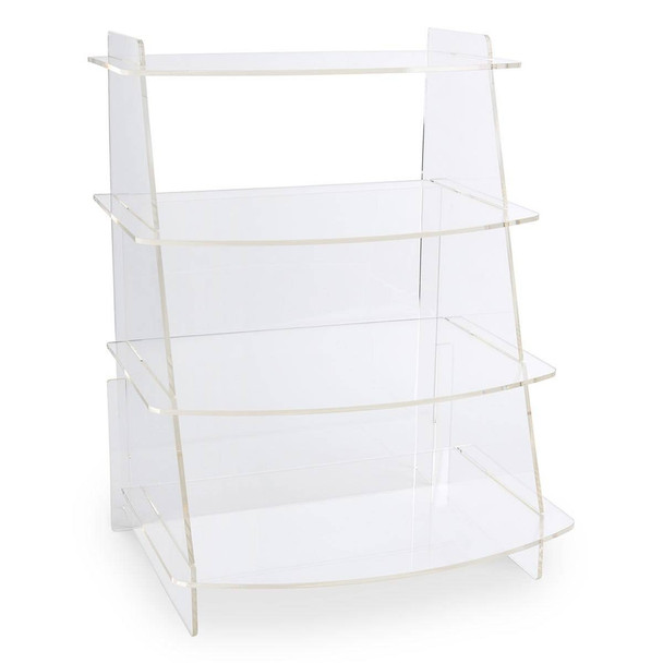 MyPlate Display Rack - 22-1/2 in H x 17 in W x 13-1/4 in D