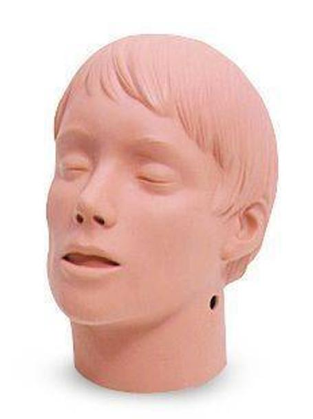 Transport Rescue Head Model For Trauma Training Manikins Caucasian