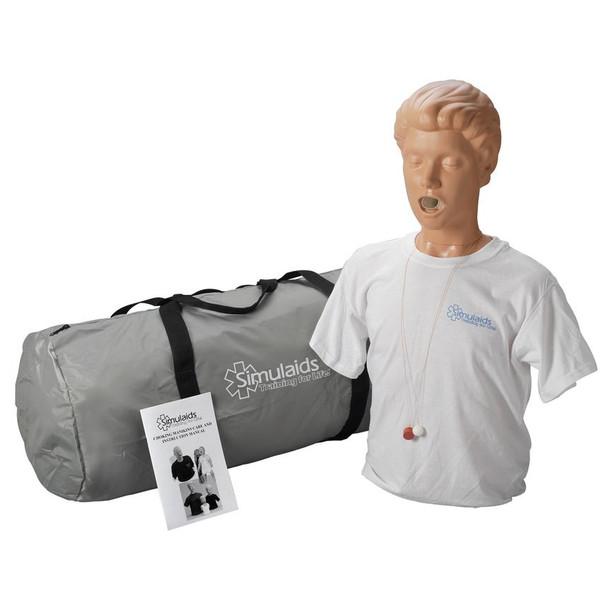 Adult Choking Manikin With Carry Bag