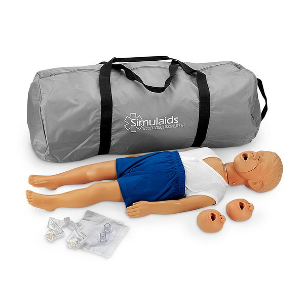 Kyle CPR Manikin With Carry Bag 3-Year-Old