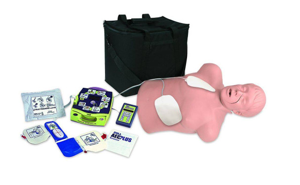 Zoll AED Trainer Simulator Package With CPR Brad