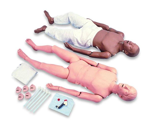 Adult Full Body CPR and Trauma Training Manikin African-American