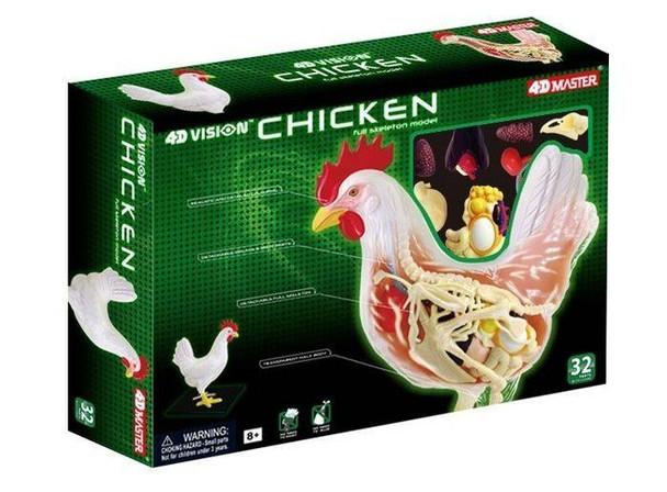 4D Vision Chicken Anatomy Puzzle