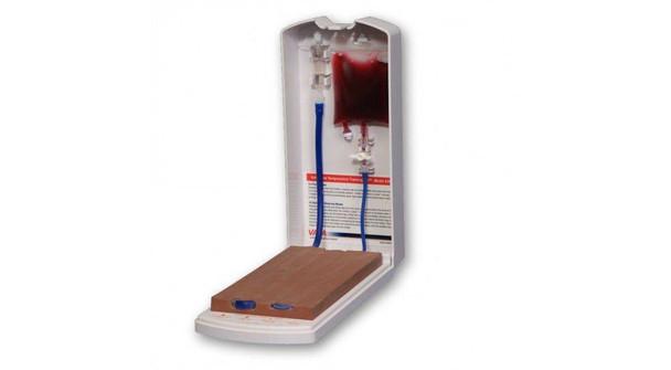 Advanced Four-Vein Venipuncture Training Aid - Dermalike II Latex Free Darkly Pigmented