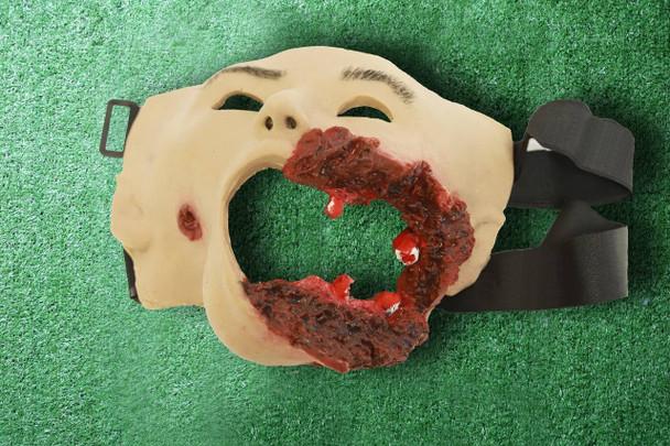 Anatomy Lab Moulage - Head Gunshot