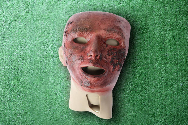 Anatomy Lab Moulage - Wearable Burn Face