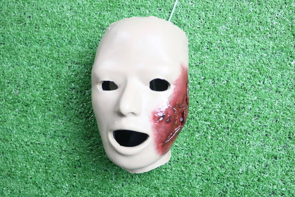 Anatomy Lab Moulage - Wearable Partial Blast Face