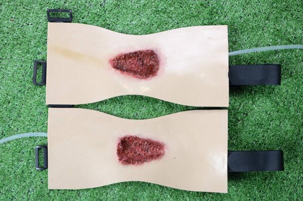 Anatomy Lab Moulage - 2 Piece Set of Axillary Gunshots