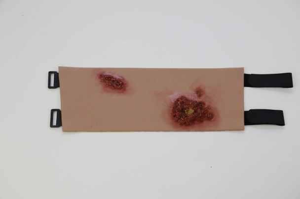 Anatomy Lab Moulage - Festering Wounds Wrap-on