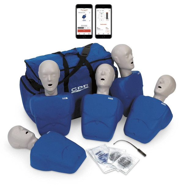 CPR Prompt Plus 5-Pack powered by Heartisense - Blue