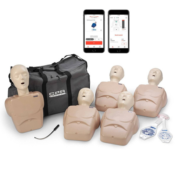 CPR Prompt Plus 5-Pack powered by Heartisense - Tan