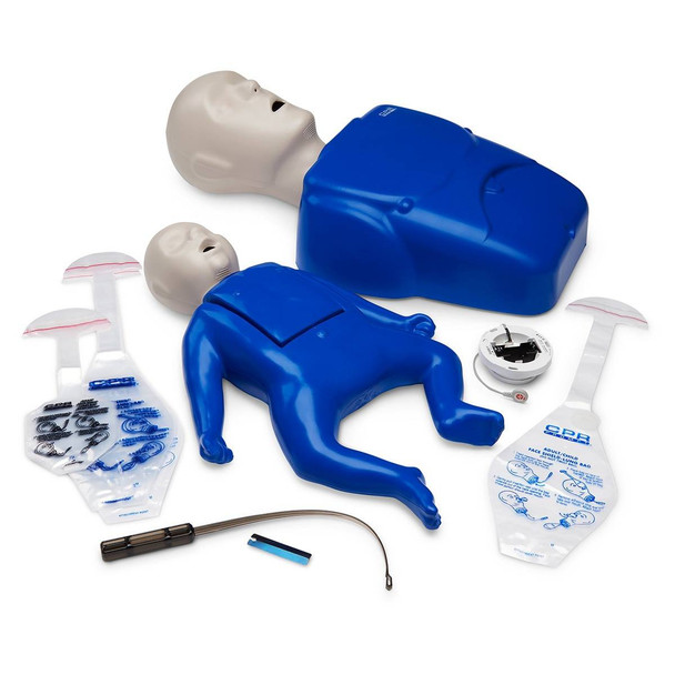 CPR Prompt Plus Adult/Child and Infant Training Pack powered by Heartisense
