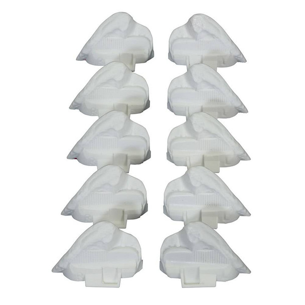 Set of 5 Replacement Right And Left Posterior Illiac Crests for Bonnie Bone Marrow Biopsy Skills Trainer