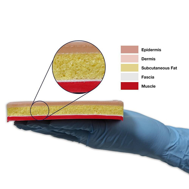 Replacement Tissue Pad for Suture Skills Trainer - 5 in X 8 in