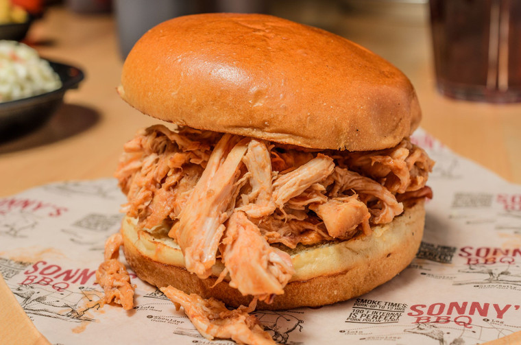 XL Pulled Chicken Combo