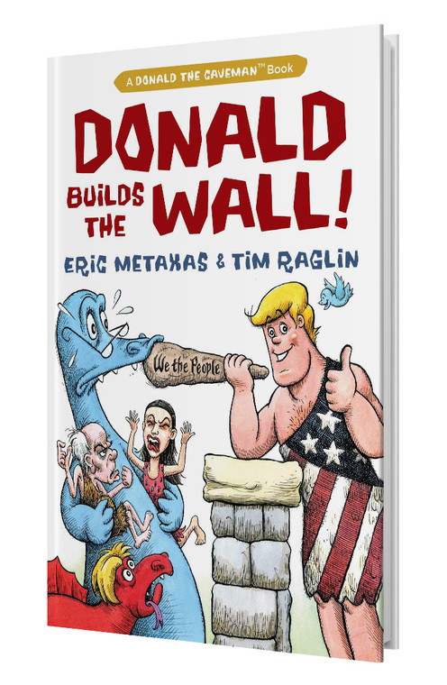 Donald Builds The Wall (Autographed Hardcover)