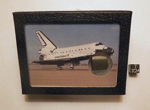 Space Shuttle Display, NASA Heat Shield Tile Sample