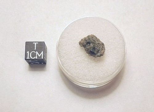 Trinitite, Atom Bomb Glass, Micromount Sample