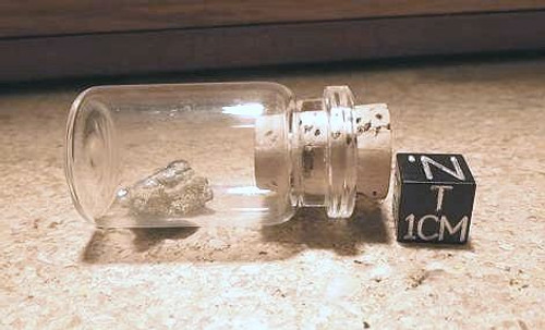 Lightning in a Bottle, Fulgurite in a Glass Vial