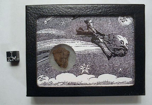 Retro Comet Rider Meteorite Display