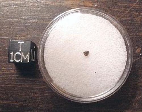 NWA 5745, Ureilite Achondrite with Nanodiamonds, Micromount