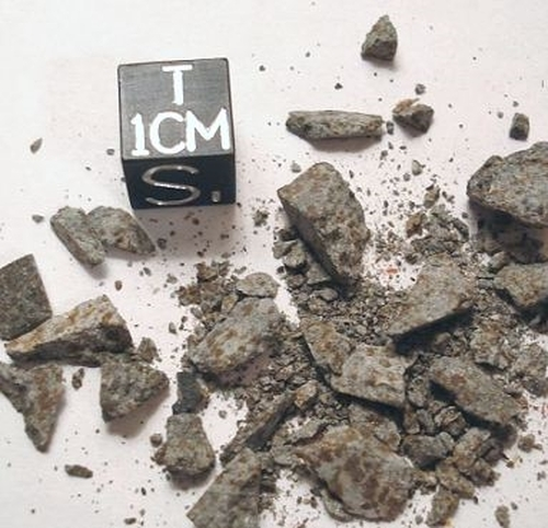 Zag, 1998 Morocco Fall, H3-6 Chondrite, Micromount
