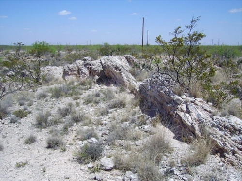 Odessa Pendant, Texas Meteorite Impact Crater, Shocked Crater Sand