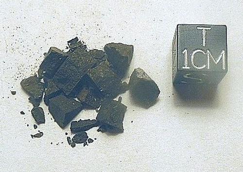 Etter, L5 Chondrite from Texas 1965, Micromount