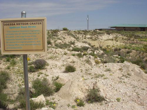 Odessa, Texas Meteorite Crater, Crater Sand Micromount