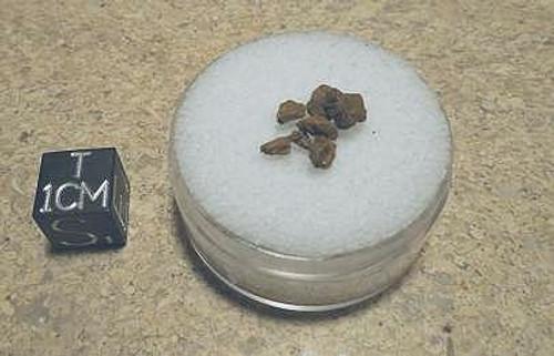 Durango, 1804 Mexican Iron Meteorite, Shale Micromount