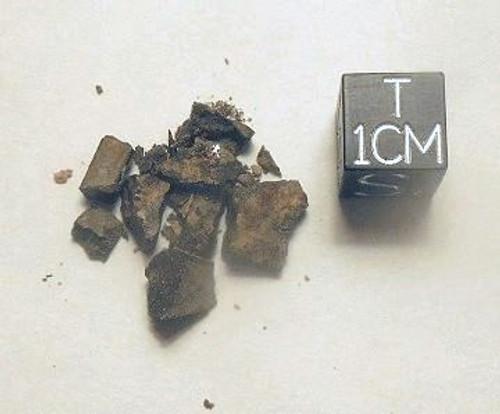NWA 791, Early Saharan L-Chondrite, Micromount