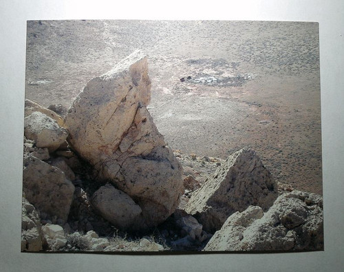 Canyon Diablo Postcard, View from Crater Rim
