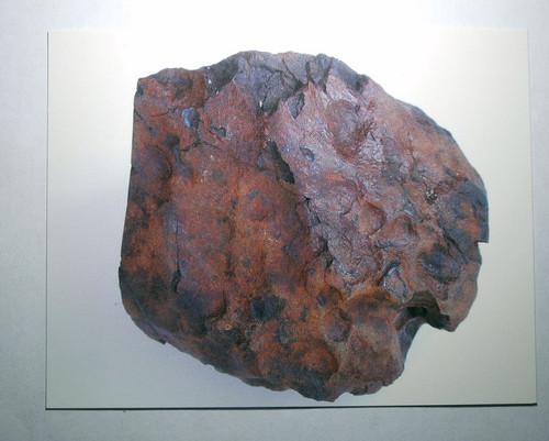 Witchita Meteorite Postcard