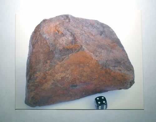 Wild Horse Meteorite Postcard
