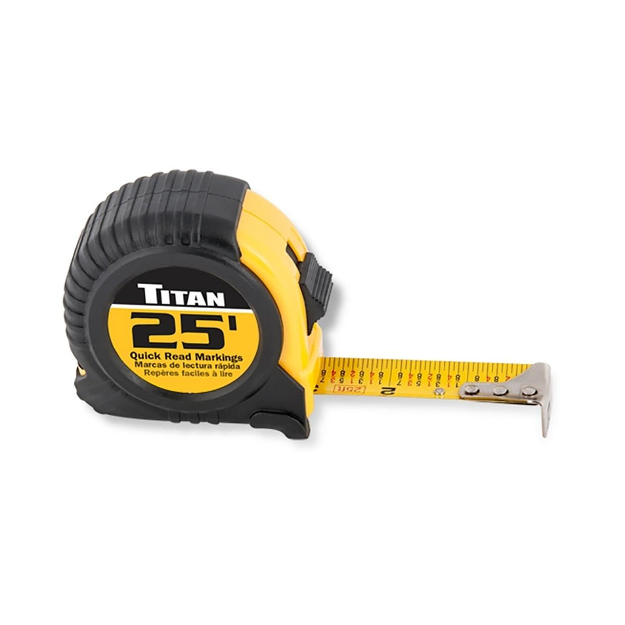 Titan Products 25 Tape Measure FCDV10906