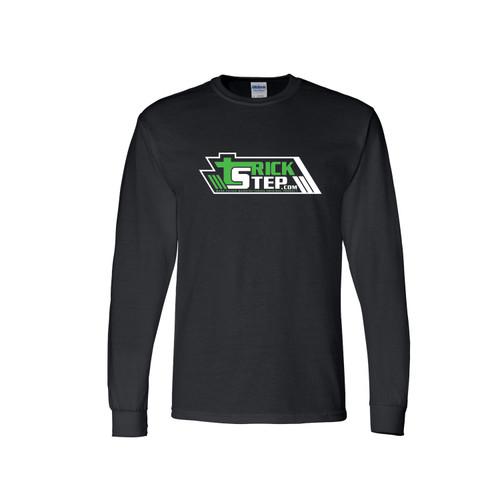 Trick Step Long-Sleeve T-Shirt - Black
