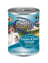 NutriSource Chicken & Rice 13oz