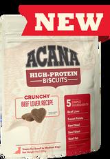 Acana High-Protein Biscuits, Crunchy Beef Liver Recipe 9 oz