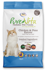 NutriSource PureVita Cat Grain Free Chicken & Peas