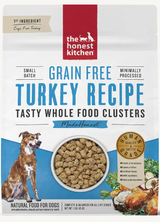 Honest Kitchen Whole Food Clusters Grain Free Turkey