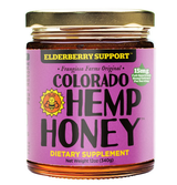 Colorado Hemp Honey Elderberry Support 6oz