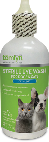 Opticlear - Sterile, Vetrinary Eyewash 4oz