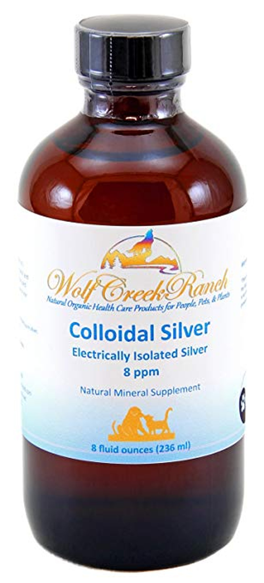 Colloidal Silver 8 oz with mister spray