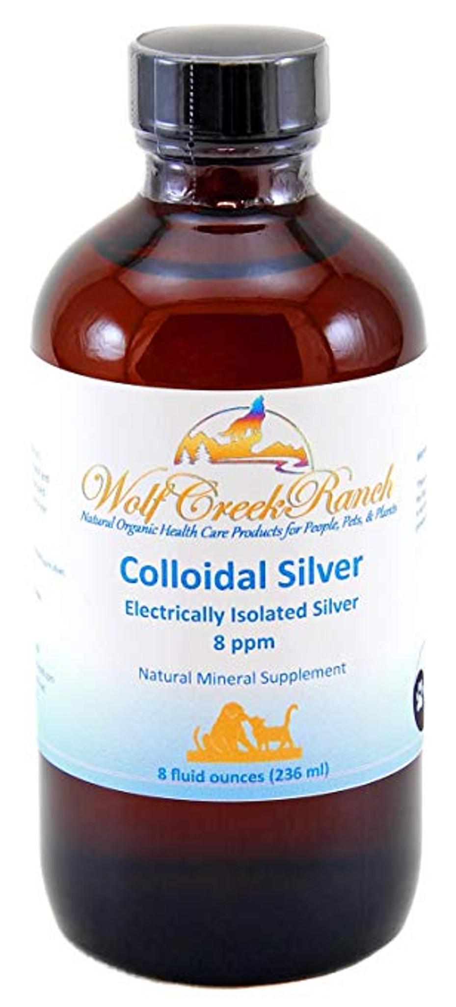 Colloidal Silver 8 oz with mister spray