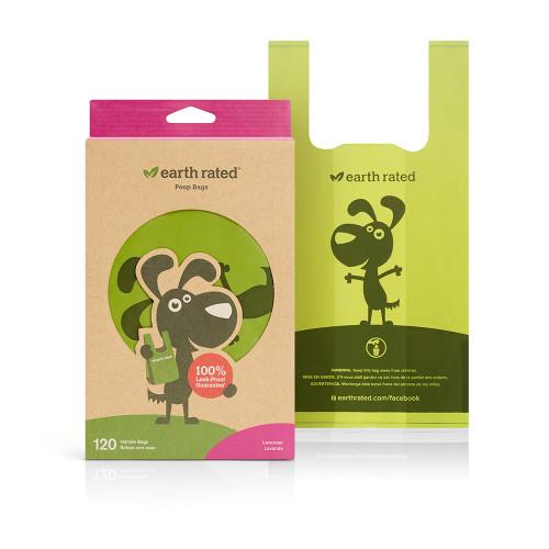 Poop Bags Earth Rated Handle Bag 120