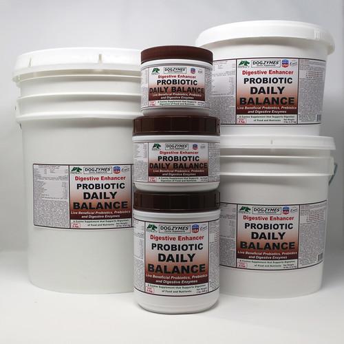 DogZymes Digestive Enhancer Probiotic Daily Balance (Brown - Egg & Liver)