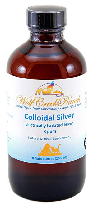 Colloidal Silver 8 oz with mister spray top